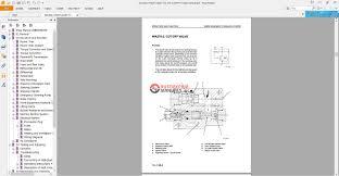 komatsu wheel loader wa 270 3 270pt 3 shop manual auto repair