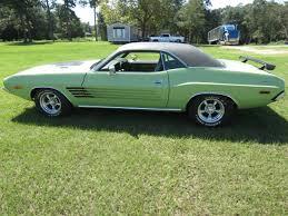 Dodge Challenger 1973 - daily turismo original green paint 1973 dodge challenger 340