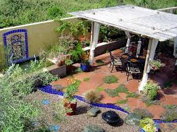Outdoor Flooring Ideas Patio Flooring Ideas Colorful Mixture Pea Gravels Colored Tile