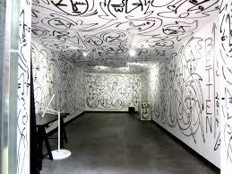 urban art wall murals spray painted by jordan betten summer love an interior wall and ceiling urban art mural painted by artist jordan betten in