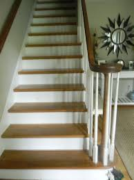 Painting A Banister White Whitewashed Stairs And A Foyer Update Hometalk