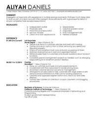 Sample Resume For Retail Sales Associate by Resume In Sales Associate
