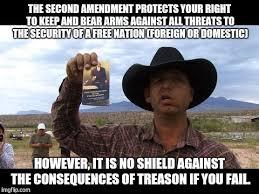 Right To Bear Arms Meme - ryan bundy yeehawdist extremist imgflip
