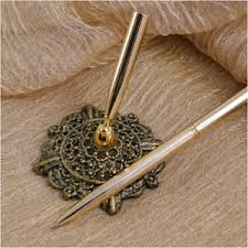 wedding guest book pen weddingdepot guest book pen antique filigree silver