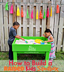 casa moncada how to build a raised kids sandbox casa moncada