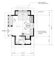 1 bedroom guest house floor plans guest cabin plans pool on a smaller scale cottage cing 1 bedroom