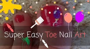 super easy toe nail art 1 jpg