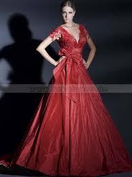 brautkleider rot brautkleider v ausschnitt rückenfrei a linie taft rot kappe ärmel