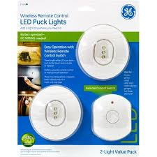 puck lights with remote wireless remote control puck light 3 led 2 pk jasco
