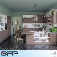 Pvc Kitchen Furniture Kitchen Cabinet Bfp Industry Co Ltd Page 1