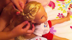 cute hairstyles for our generation dolls hairstyle for american girl doll journey girl youtube