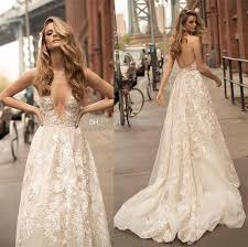 beaded wedding dresses discount lace appliques beaded wedding dresses 2018 berta bridal