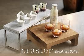 craster buffet displays at houseware ie breakfast buffet flow
