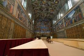 sistine chapel aims for new heights with olympics style show