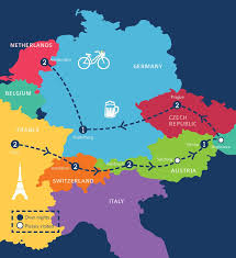 World Map Austria by European December And New Years Tour 2017 C The World