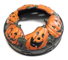 yankee candle jack o u0027 lanterns u0026 bats halloween pumpkin patch jar