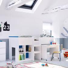 lit mezzanine enfant bureau 10 lits enfants en mezzanine pour s inspirer but