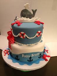 nautical baby shower cakes baby bits bites from the cake