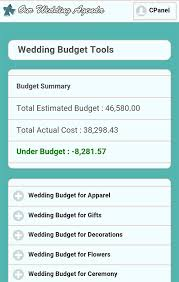 Wedding Planner Cost Our Wedding Planner Tools Weding Planner Budget Tools