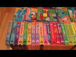 blues clues collection vhs tapes u0026 books