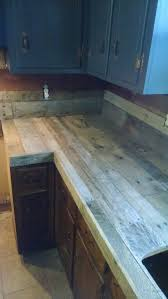 Outdoor Cabinets And Countertops Best 25 Pallet Countertop Ideas On Pinterest Outdoor Countertop