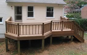 distinctive and various composite terrace railing a few ideas