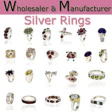 wholesale rings com images Wholesale rings semi precious gemstone silver plus jaipur id jpg