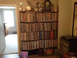 saggy bookshelves vinyl