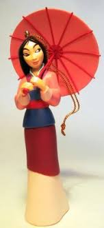 mulan ornament grolier from our collection disney