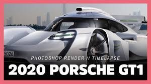 porsche spyder 911 2020 porsche 911 gt1 rendered as street legal racecar successor
