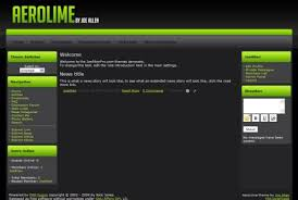 templates for website free download in php free php fusion 7 grey green theme template
