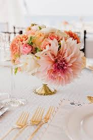 Gold Vases For Weddings Best 25 Coral Flower Centerpieces Ideas On Pinterest Coral