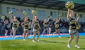 Cheerleader Flags American Football Club Rangers Mödling We R One