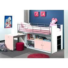 lit superposé avec bureau lit hauteur bureau gallery of lit mezzanine blanc avec bureau lit