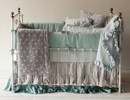 Vintage Style Crib Bedding Notte Linens At Rosenberry Rooms