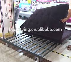 folding sofa bed frame practical metal plank fold out sofa bed frame with stainless steel