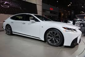 lexus ls vs acura tlx 2018 lexus ls gets f sport and handling packages