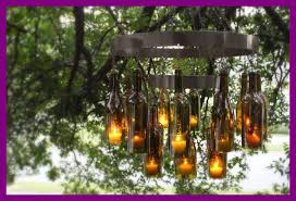 lights made out of wine bottles fascinating chandeliers made out of recycled wine bottles for