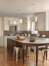 white kitchen with glazed moroccan tile beck allen cabinetry