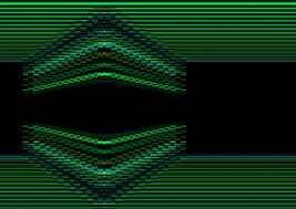 design lines font free images abstract retro wave number decoration pattern