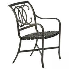 Tropitone Patio Chairs Tropitone Palladian Café Aluminum Patio Furniture Resort