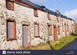 cottages for sale boarded up derelict row of 4 terraced stone cottages for sale by