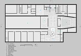Floor Plan Of Auditorium Barnes Foundation Designed By Tod Williams Billie Tsien Architects