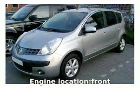 nissan note 2005 2005 nissan note 1 5 e11 speed exhaust price power specs engine