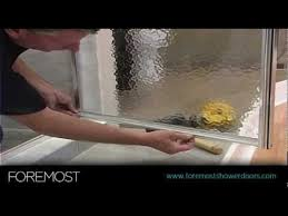 Easco Shower Door Panel Door Shower Door Installation