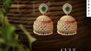 buttalu earrings hmongbuy net gold buttalu designs antique jhumkas designs