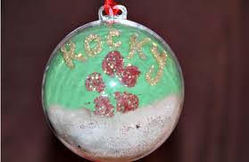 diy paw print ornament pawculture