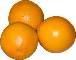 weight equivalents oranges