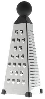chef n cheese grater buy chef 39 n tower grater 4 in 1 stainless steel cheese grater