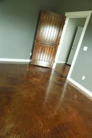 Flooring For Basement Floors by Staining And Finishing Concrete Floors Ana White Woodworking